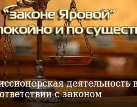 """Все о """"законе Яровой"""" спокойно и по существу"""