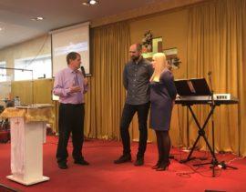 Рукоположение на пасторское служение